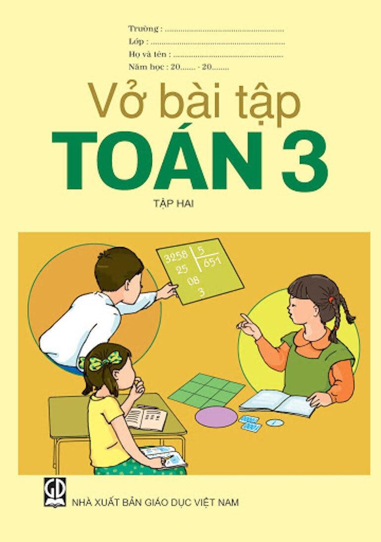 Sách giáo khoa lớp 3 mang tới cảm giác vui vẻ khi học tập