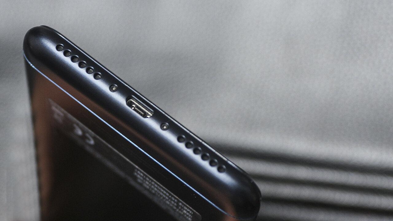 Cổng kết nối USB của Zenfone 4 Max Pro