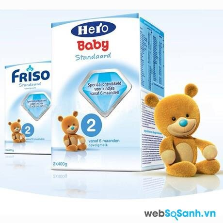 Sữa bột Friso Hero Baby 2