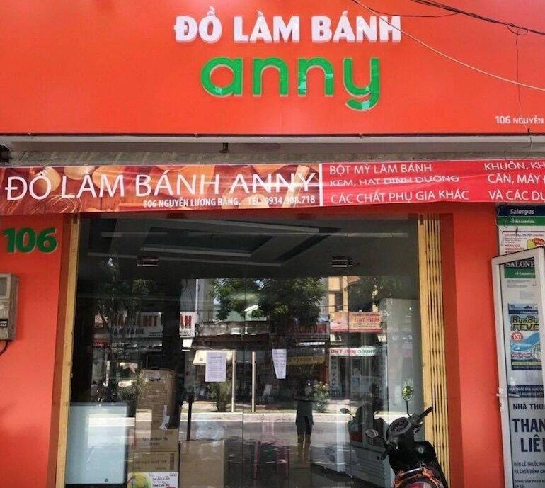 Cửa hàng ANNY – Chuyên cung cấp nguyên liệu và dụng cụ làm bánh