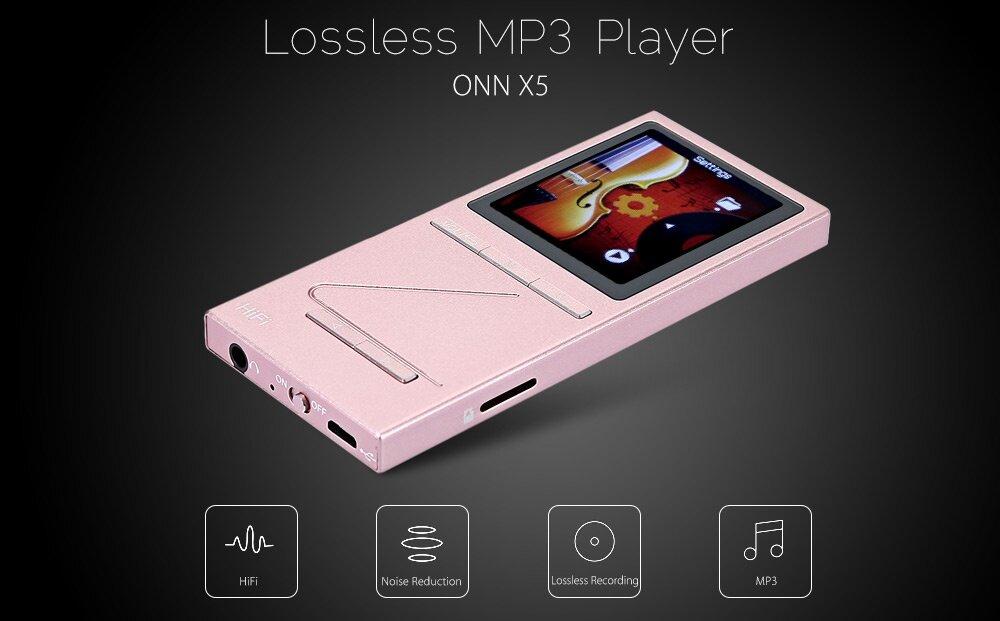 Máy nghe nhạc ONN X5 có dung lượng pin khủng