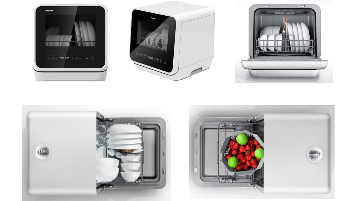 Máy rửa chén Toshiba có đến 6 chương trình rửa, trong đó có thể rửa trái cây