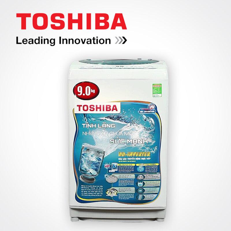 Máy giặt cửa trên inverter Toshiba dc1000cv (9.0 kg)