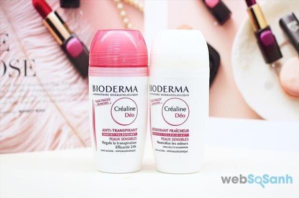 lăn khử mùi không muối nhôm Bioderma
