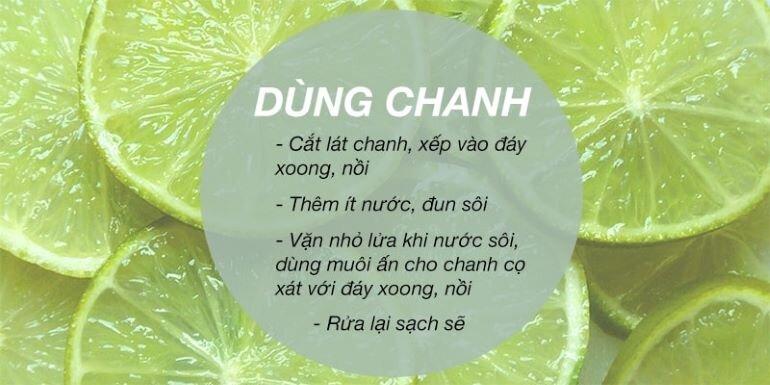 Chanh giúp làm sạch nồi cơm điện bị cháy(Nguồn: tgdd.vn)