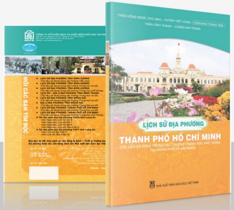 Sách lịch sử về thành phố Hồ Chí Minh