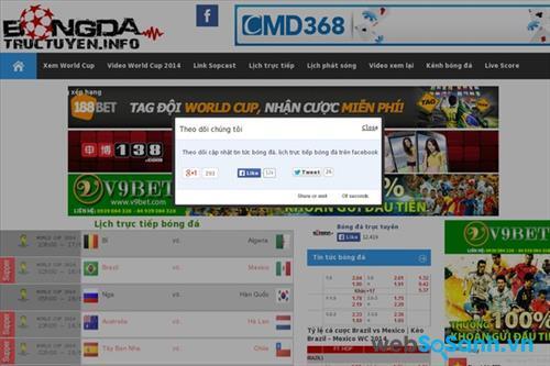 Bongdatructuyen.info là kênh được nhiều người ưa thích bóng đá lựa chọn để theo dõi các trận cầu