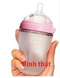 Bình sữa Comotomo chính hãng