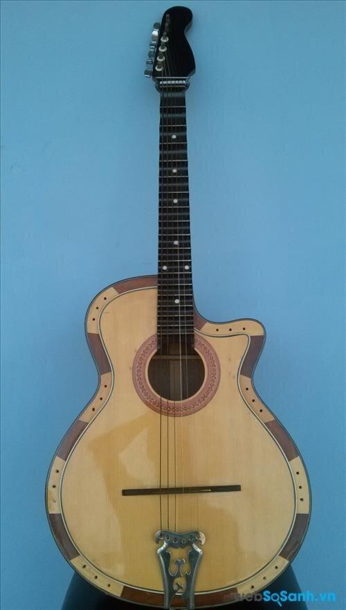 Một chiếc Lục huyền cầm (guitar phím lõm)