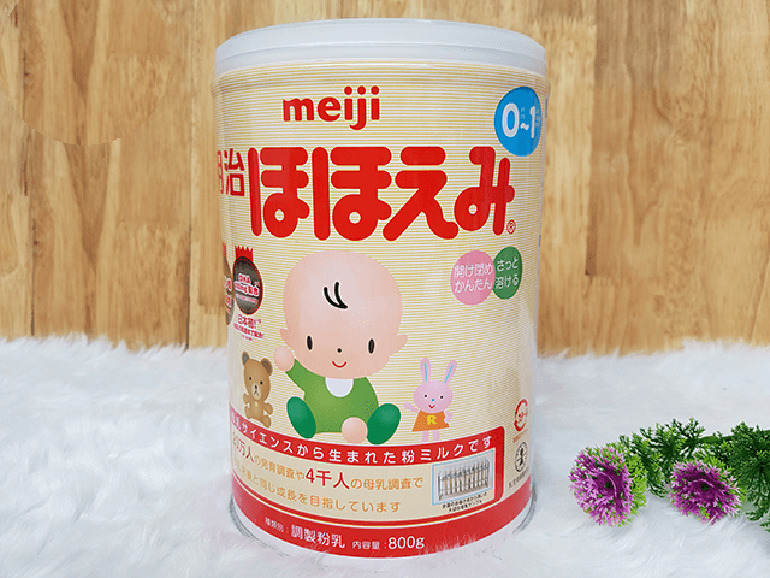 Sữa Meiji phù hợp trẻ tao bón