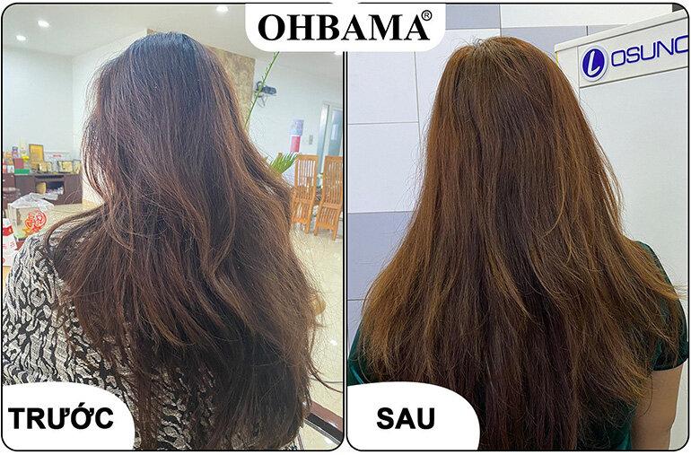 dầu gội nhuộm tóc ohbama