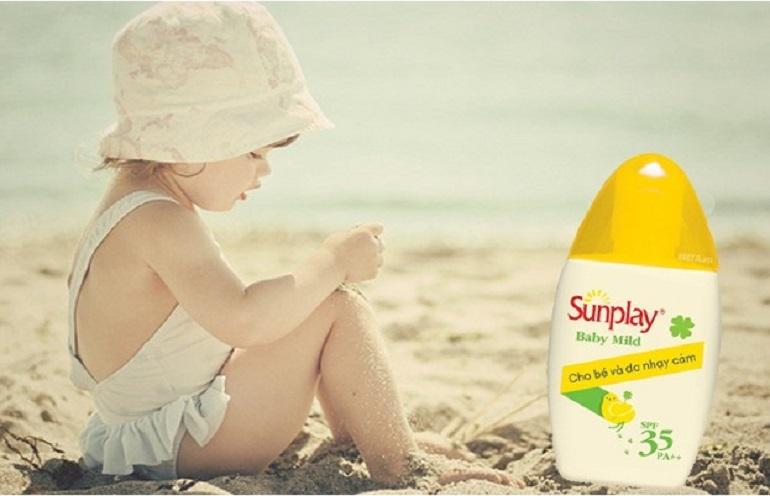 Kem chống nắng Sunplay Baby Mild