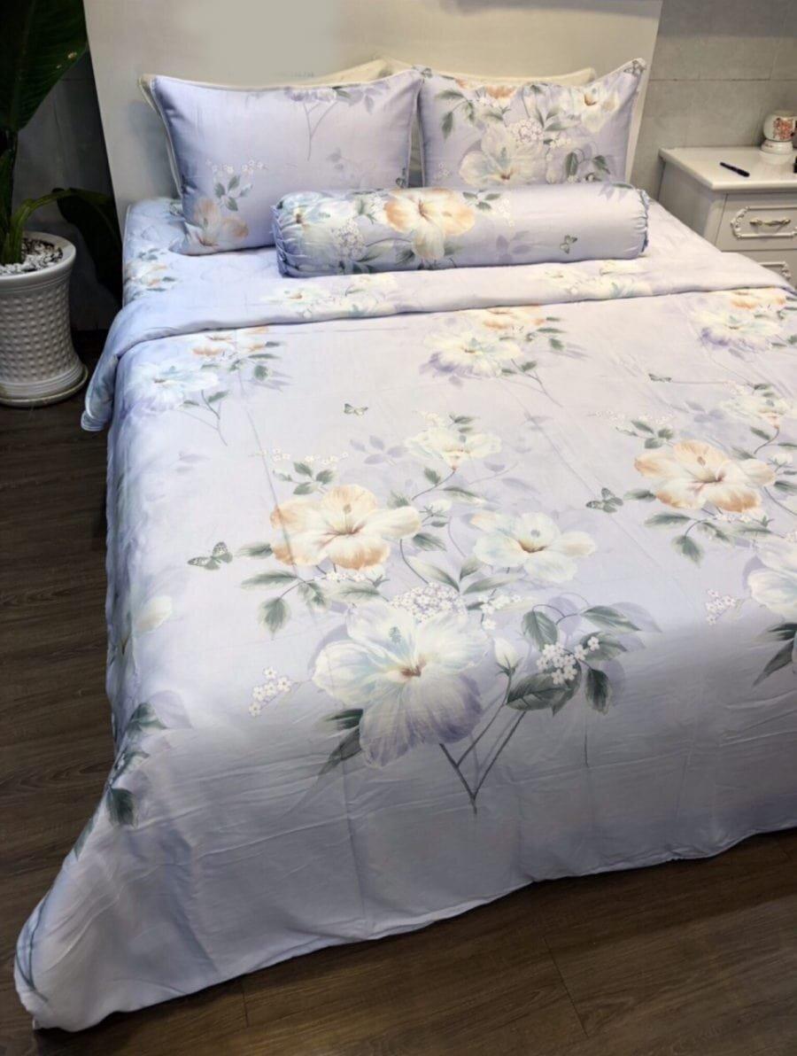 Bộ chăn ga giúp phòng ngủ cổ điển và sang trọng