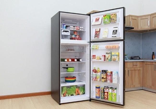 Tủ lạnh Hitachi r-vg440pgv3 thiết kế đẹp mắt, tiện lợi.