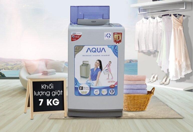 Máy giặt cửa trên Aqua AQW-K70AT 7Kg (