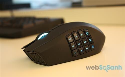 Những dòng chuột cao cấp được trang bị nhiều phím hỗ trợ
