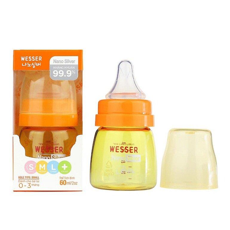 Bình sữa Wesser có tốt không, mua ở đâu thì uy tín, giá rẻ?