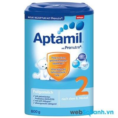 Sữa bột Aptamil 2+