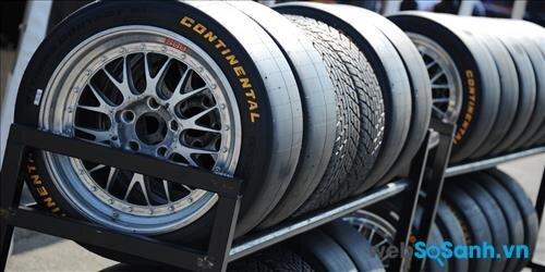 Mua lốp ô tô hãng nào tốt nhất: Lốp ô tô Continental