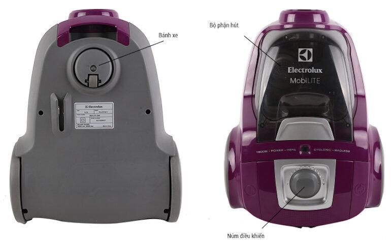 Những đặc điểm nổi bật của máy hút bụi Electrolux zlux1811