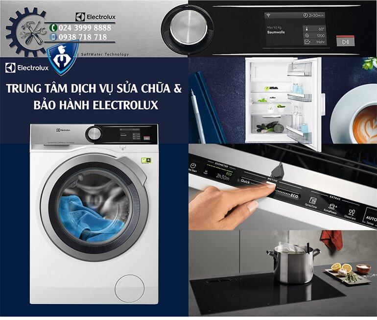 Đăng ký và liên hệ bảo hành máy giặt của Electrolux rất dễ dàng, tiện lợi (Nguồn: baohanhelectrolux.vn)