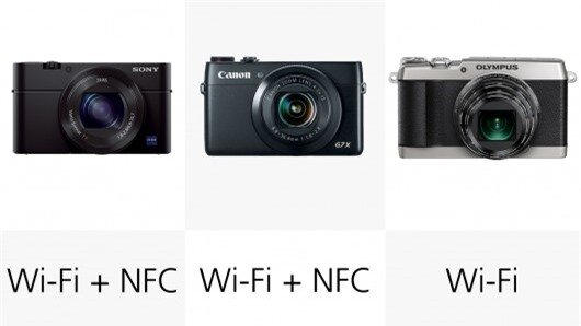Wireless capability across the board means that sharing images from these compacts will be...