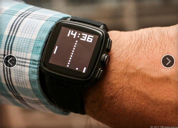 Một mặt đồng hồ đơn giản nhưng khá đẹp trên TrueSmart