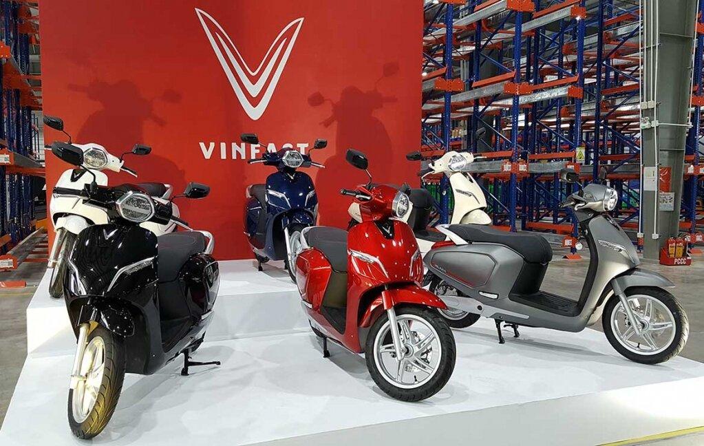 Xe máy điện VinFast Kara có vẻ ngoài thanh lịch, sang trọng và mạnh mẽ