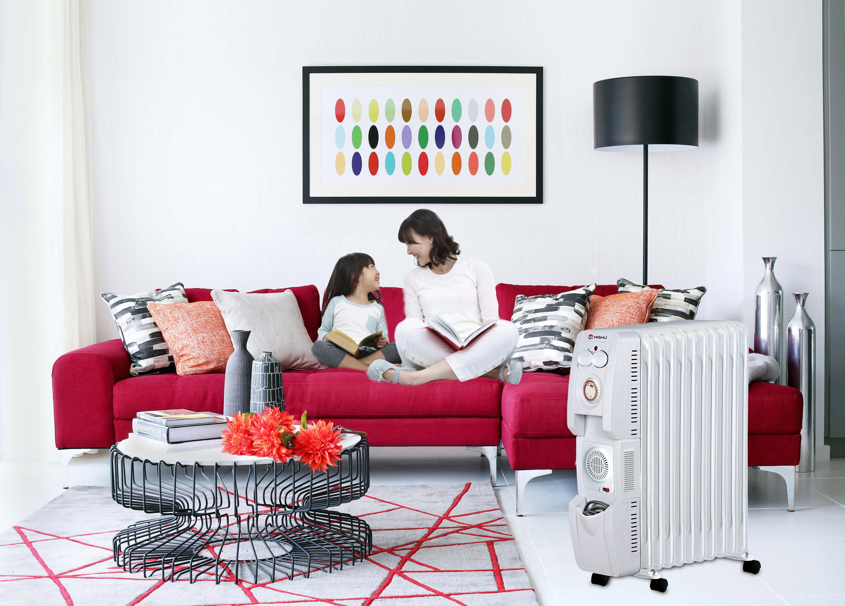 Máy sưởi mang đến những giây phút hạnh phúc hơn, đầm ấm hơn cho gia đình