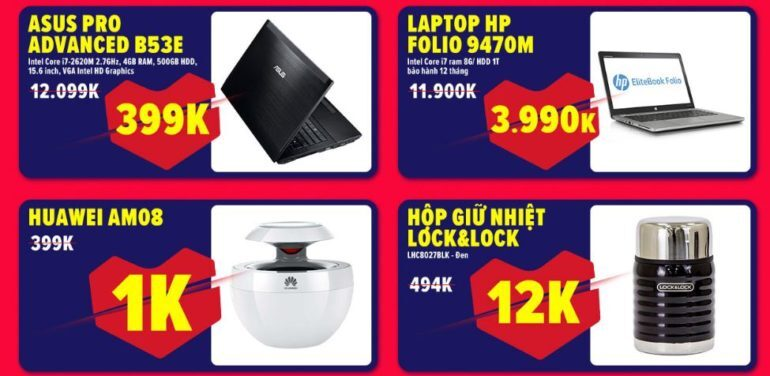 """Tiết lộ bí kíp săn hàng sale laptop Asus và HP """"giá rẻ giật mình"""""""