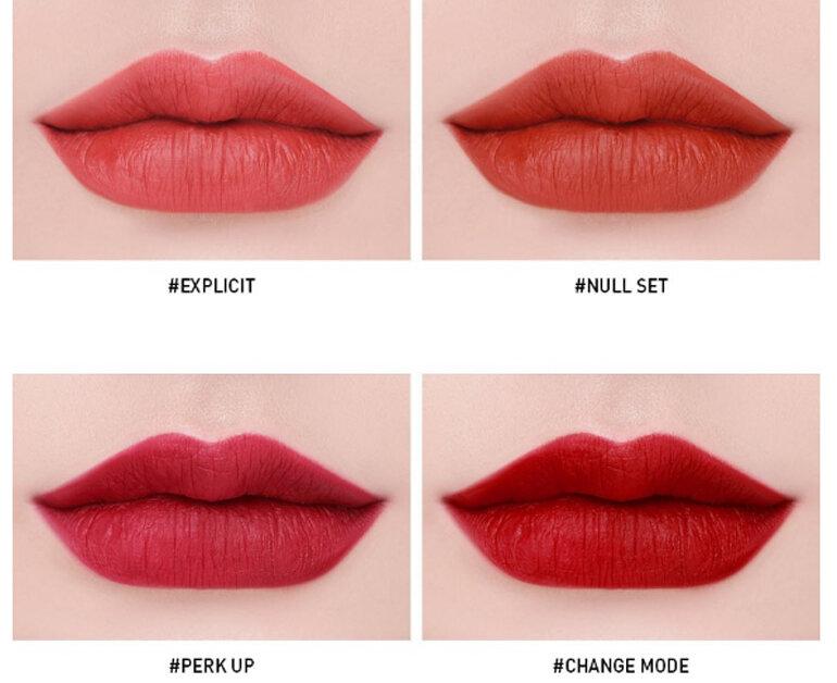 Review 10 màu Son 3CESoft Lip Lacquer