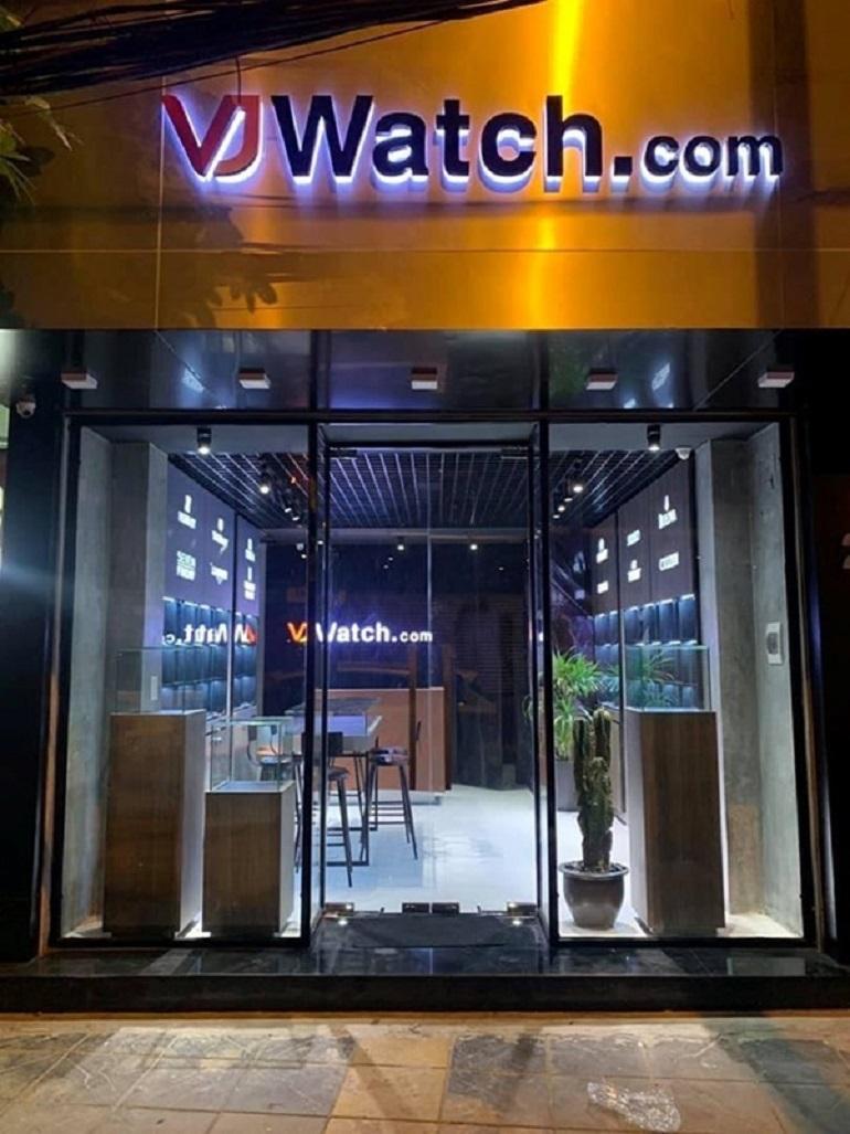 VJWatch Store - Hệ thống cửa hàng đồng hồ chính hãng