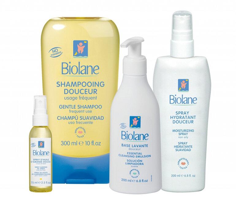 Sữa tắm Biolane (Nguồn: toplist.vn)