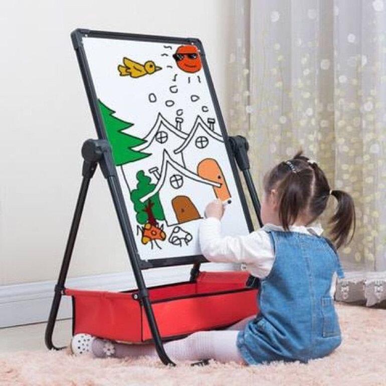 Đồ chơi bảng vẽ giáo dục 2 mặt cho bé