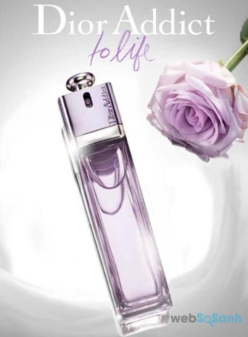 Chai nước hoa nữ Dior Addict To Life có mùi hương thuần khiết, nhẹ nhàng nhưng không kém phần nữ tính