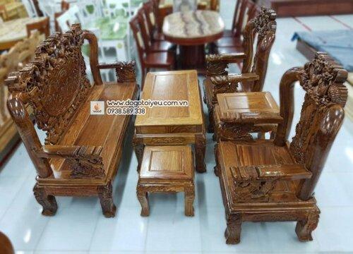 bộ salon gỗ