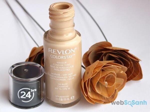 kem nền cho da dầu Revlon colorstay review