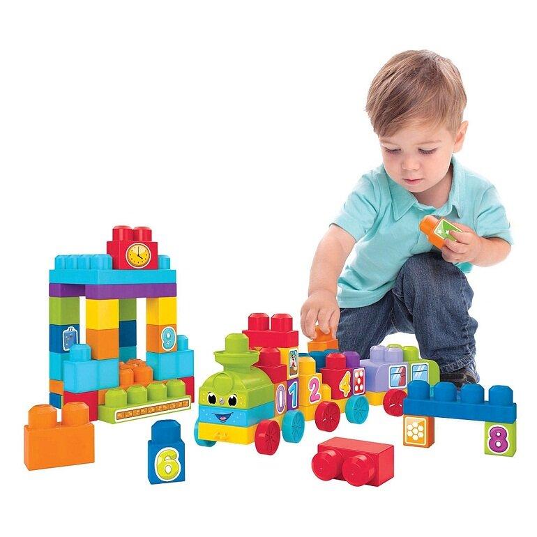 Đồ chơi xếp hình Lego Duplo: Tàu lửa học số cho bé
