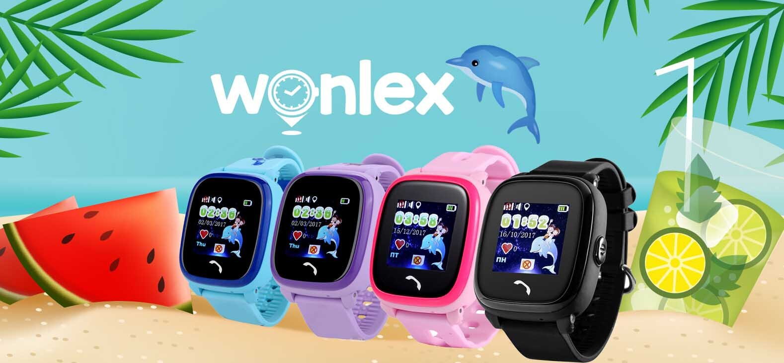 Đồng hồ Wonlex thiết kế nhỏ gọn, màu sắc đa dạng
