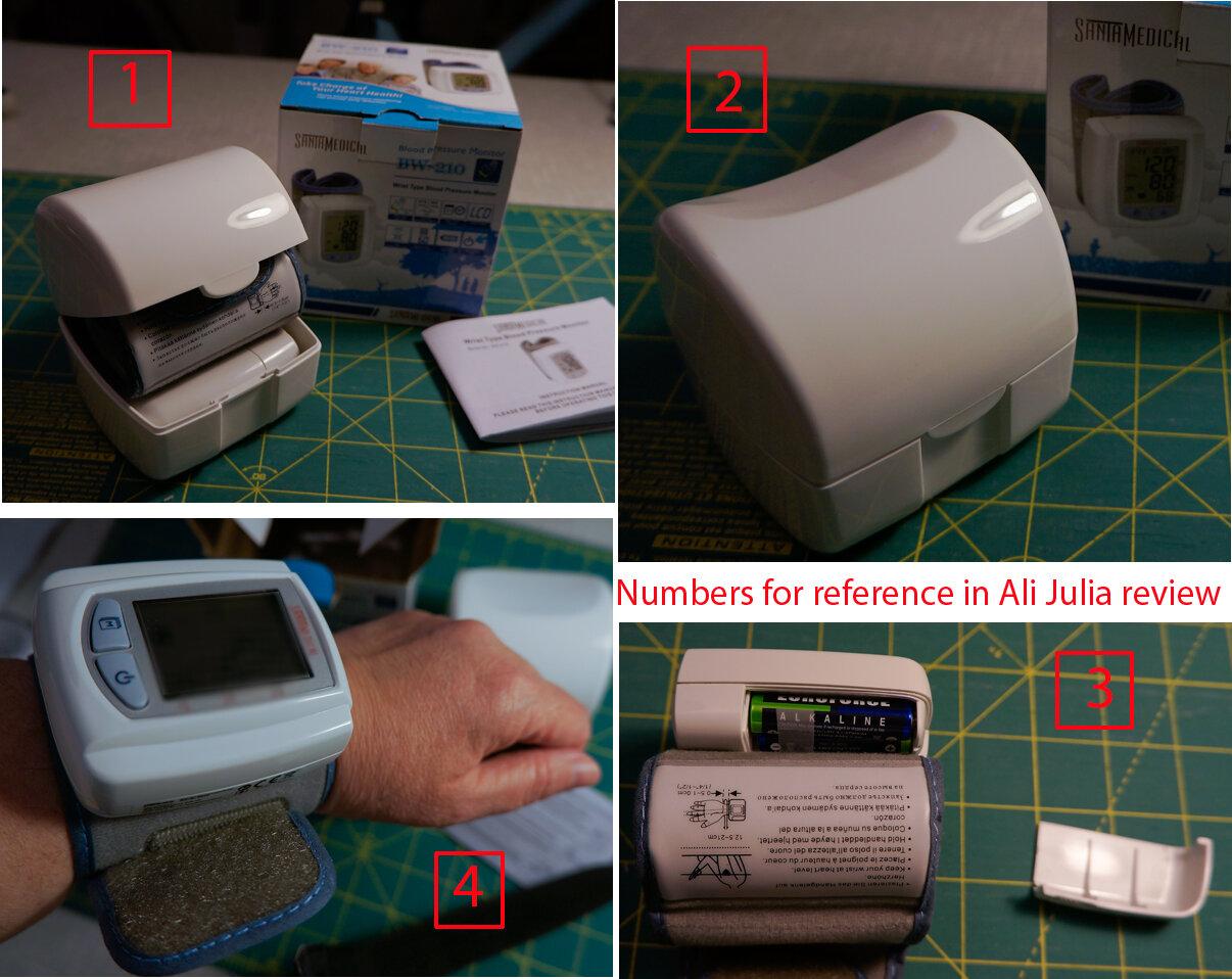 Máy đo huyết áp Santamedical