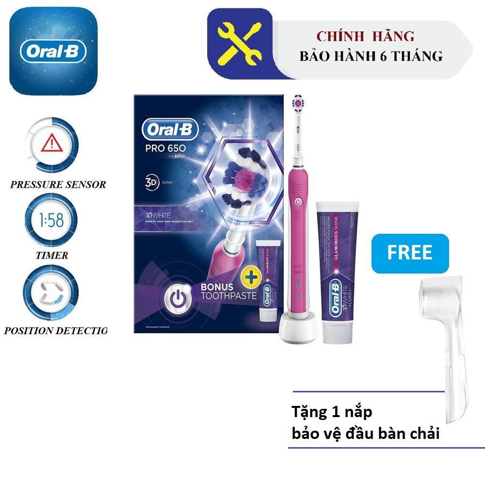 Bàn chải điện Oral-B Pro 650 3D