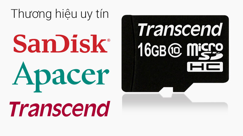 Thẻ nhớ 16GB là gì