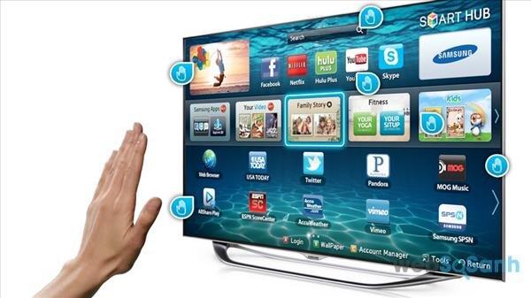 Smart tivi hỗ trợ nhiều tính năng thông minh