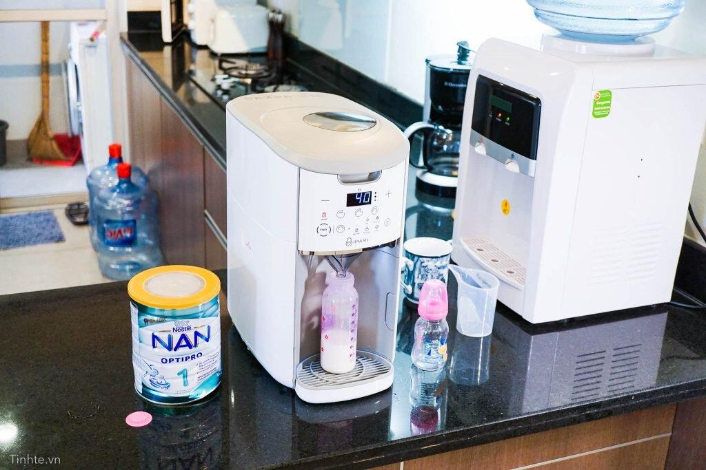 Máy pha sữa tự động Imami pha sữa nhanh