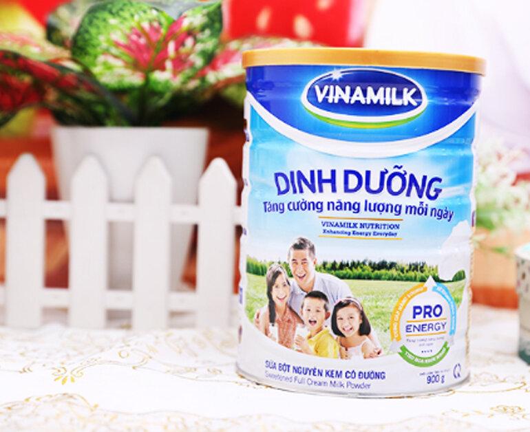 sữa bột nguyên kem vinamilk dinh dưỡng