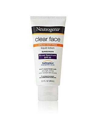 Neutrogena Clear Face Liquid Lotion SPF 55