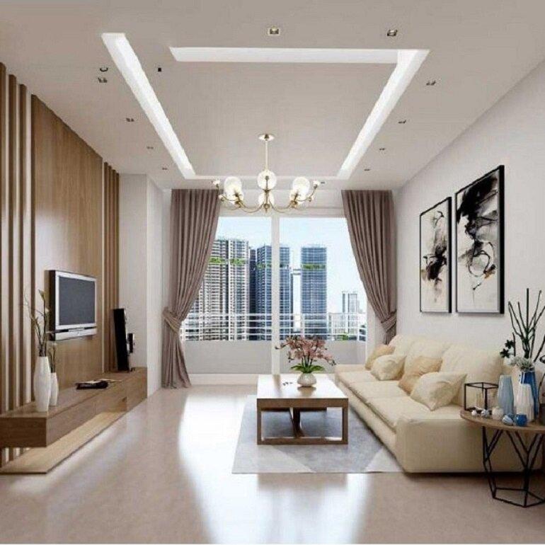 nội thất phòng khách sang trọng, hiện đại