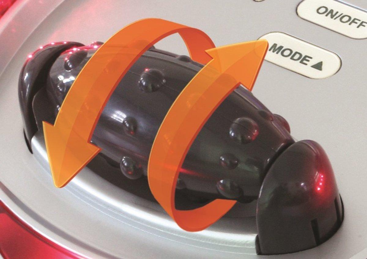 Con lăn massage trên máy mát xa chân Bodi Tek Circulation Plus Active CRO3