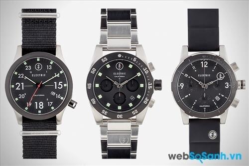 Đồng hồ điện tử cũng nổi trội hơn về khả năng chống sốc