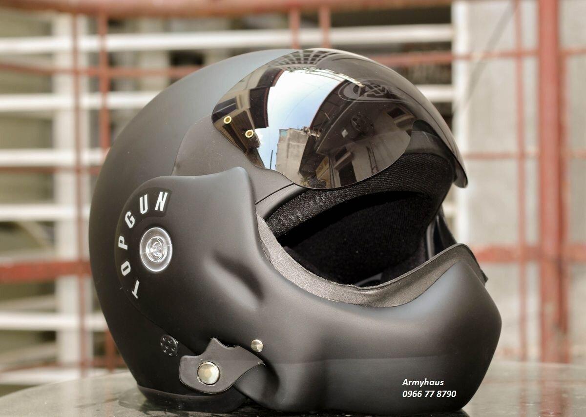 Avex Topgun là dòng mũ fullface lật hàm đến từ Thái Lan